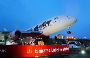 Výzva Emirates proti ilegálnímu obchodu se zvířaty oblétla celý svět