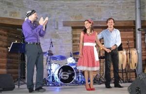 Koncert zpěvačky Magdalény na tvrzi Orlice u Letohradu