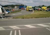 Při nehodě osobního vozidla a dodávky se zranilo pět lidíDosud nehodnoceno.