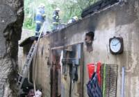 Z původně ohlášeného požáru v lese nakonec hořel nevyužívaný vojenský sklad ve Šternberku.Dosud nehodnoceno.