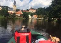 Vodácká sezona vrcholí, naše tipy při jízdě po Vltavě                                        5/5(2)