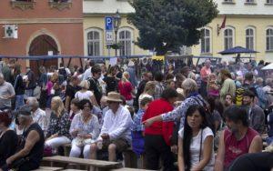 Město Úštěk navštívil císař Karel IV.