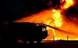 Nad ránem hořelo ubytovací zařízení