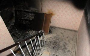 Na sídlišti hořel bytový dům
