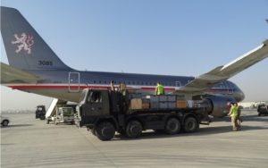 Armáda ČR vracela do Kábulu muzejní exponáty