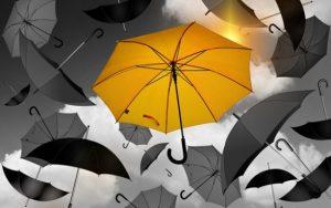 Do Česka míří vydatný déšť a silný vítr