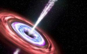 Vědci objevili nejvzdálenější černou díru