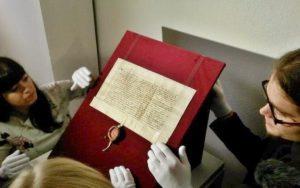 V Praze byly k vidění listinné poklady české státnosti