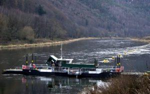 Přívoz v Dolním Žlebu má novou loď