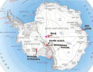 Konspirační teorie – Mimozemská základna v Antarktidě