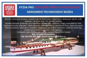 Národní technické muzeum prosí občany o pomoc