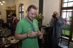 Kytarista Wohnoutu vystavuje své fotografie
