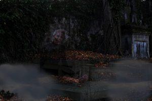 Nekromancie na starém hřbitově není dobrý nápad