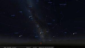 Astronomické okénko – letní noční obloha