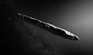 Co je skutečně Oumuamua?