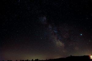 Zvířetníkové světlo patří ke krásám noční oblohy