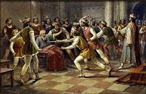 9. února 1003 se naplnila karma rodu Vršovců.