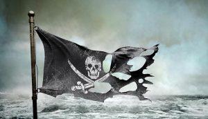Autorem pirátské vlajky je Calico Jack