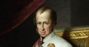 7. září 1836 byl naposledy korunován český král