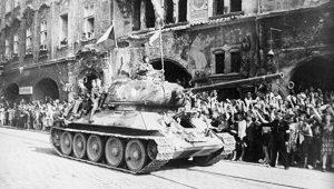 9.května 1945 skončily boje v Praze