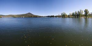 Jezero Žernoseky je jako kousek moře u nás